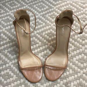 Dusty Rose Nude Sandal Size 7